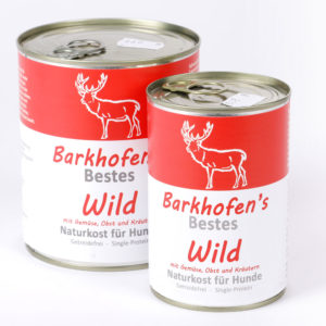 Barkhofen´s Wild Napf Express Hundefutter Dosenfutter