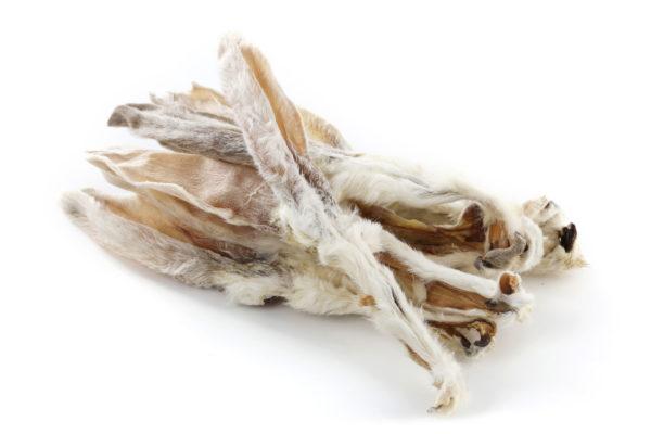 Kaninchenohren mit Fell Napf Express Hundefutter Trockenware Kauartikel hundefutter online kaufen