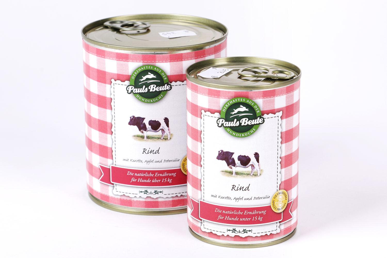PaulsBeute Rind Napf Express Hundefutter Dosenfutter hundefutter online kaufen