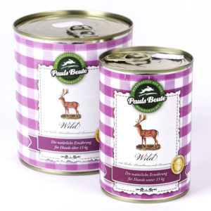 PaulsBeute Wild Napf Express Hundefutter Dosenfutter hundefutter online kaufen