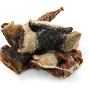 Rindernasen mit Haut und Fell Napf Express Hundefutter Trockenware Kauartikel hundefutter online kaufen