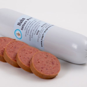 Haltbarer Napf Huhn 400 g • Napf Express • Hundefutter • Haltbare Wurst online kaufen • Barf Shop Lippstadt Paderborn Gütersloh