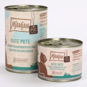 Mjamjam Gute Pute Napf Express Hundefutter Dosenfutter Katzenfutter Katzenfutter online kaufen