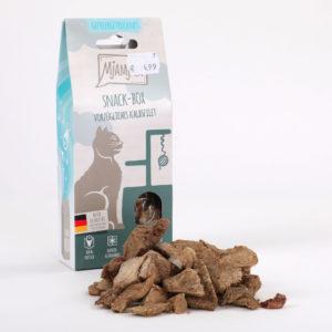 Mjamjam Snack-Box Vorzügliches Kalbsfilet Napf Express Hundefutter Leckerlies Katzenfutter Katzenfutter online kaufen