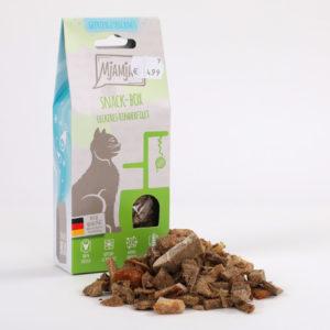 Mjamjam Snack-Box Leckeres Rinderfilet Napf Express Hundefutter Katzenfutter Leckerlies Katzenfutter online kaufen