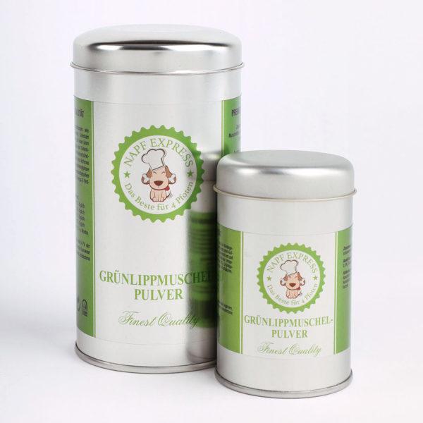 Grünlippmuschelpulver Napf Express 100g 250g Nahrungsergänzung Katzen Hunde Hundefutter Katzenfutter online kaufen