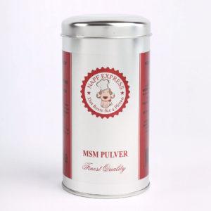 MSM Pulver Napf Express 250g Nahrungsergänzung Katzen Hunde Hundefutter Katzenfutter online kaufen